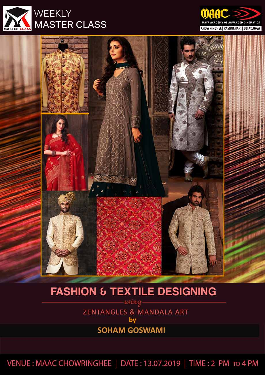 Weekly Master Class on Fashion & Textile Designing