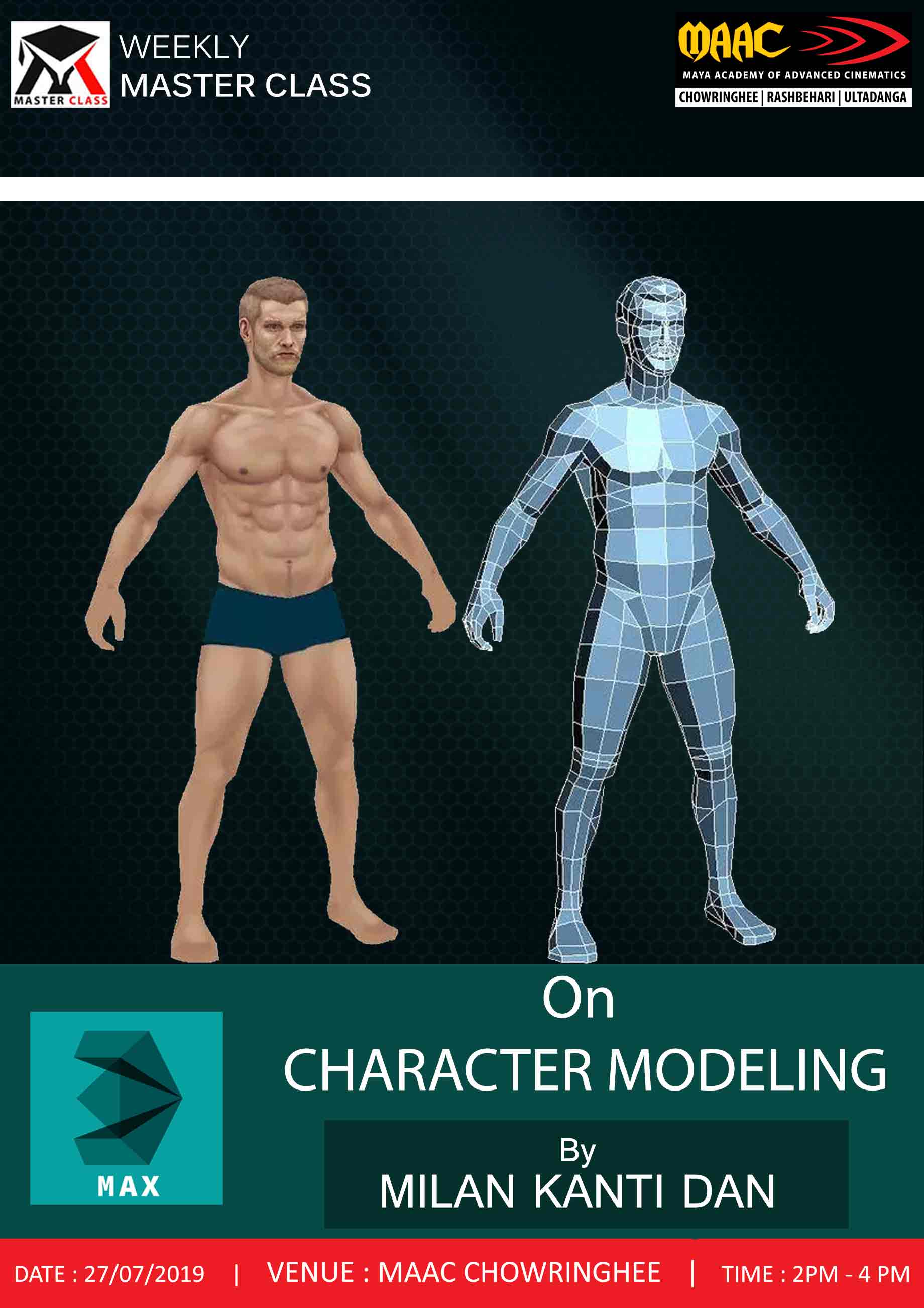 Weekly Master Class on Character Modeling