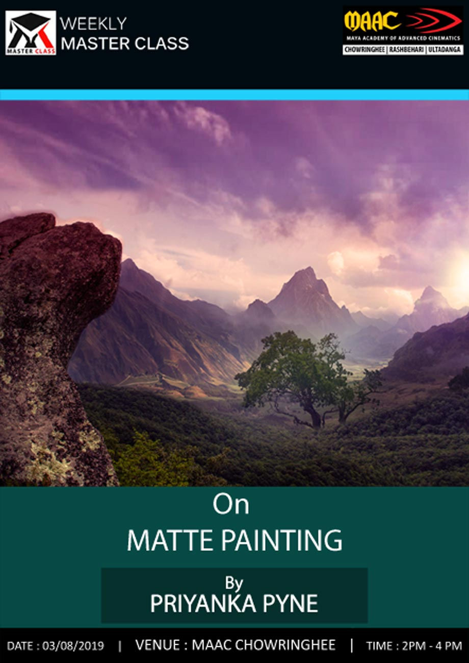 Weekly Master Class on Matte Painting