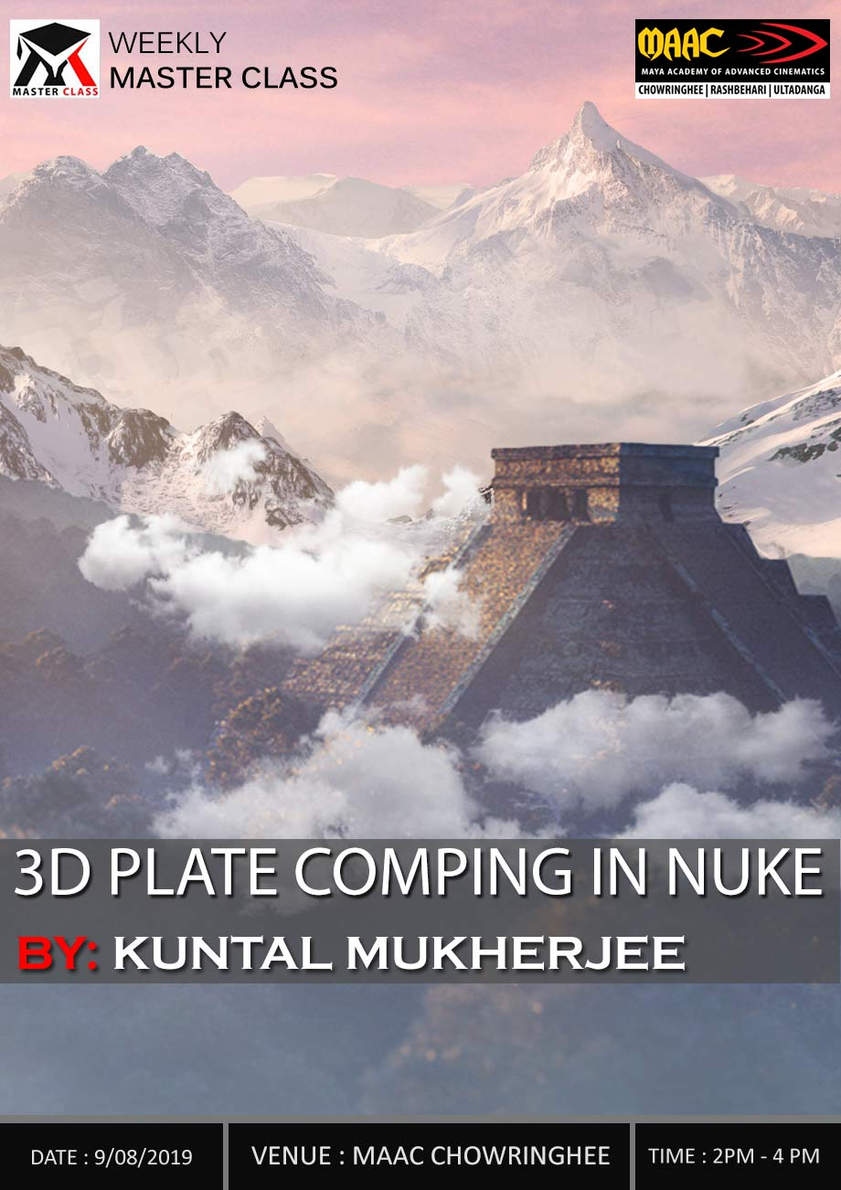 Weekly Master Class on 3D Plate Comping in Nuke