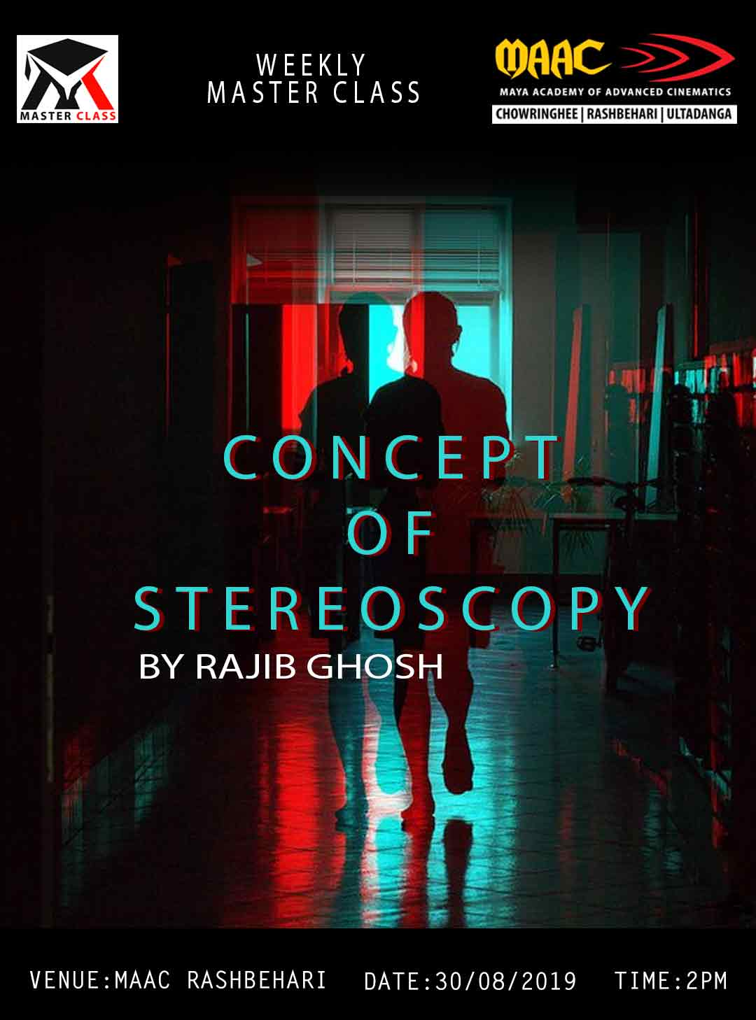 Weekly Master Class on Concept Of Stereoscopy