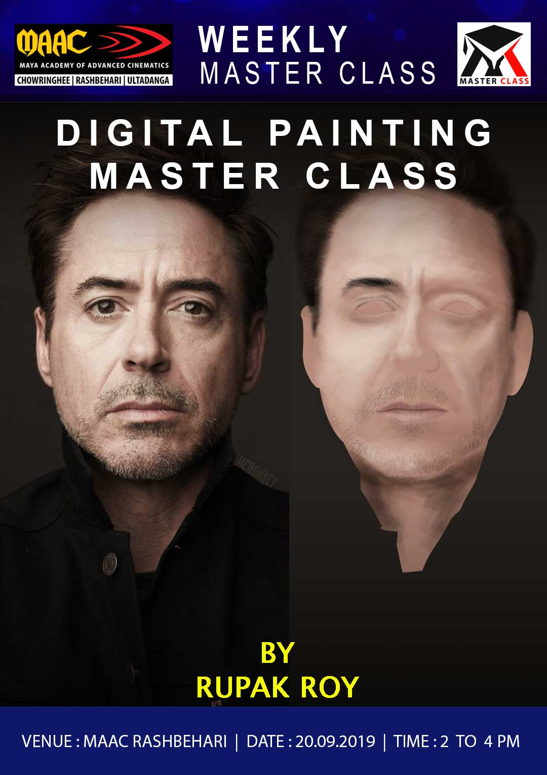 Weekly Master Class on Digital painting