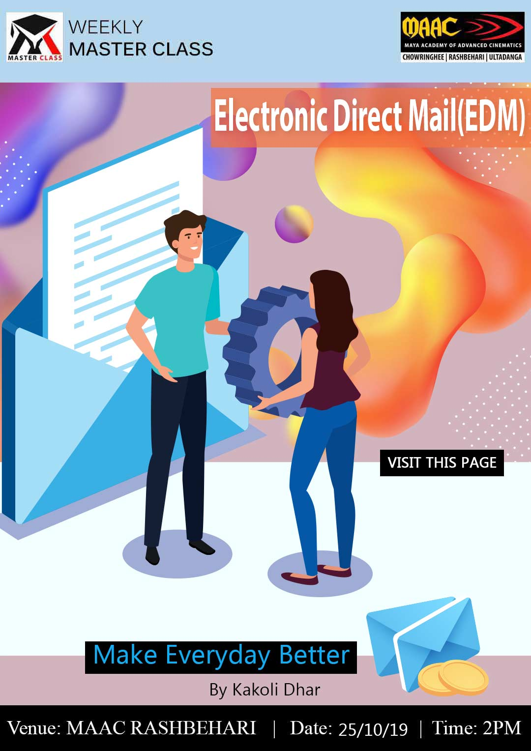 Weekly Master Class on Electronic Direct Mail