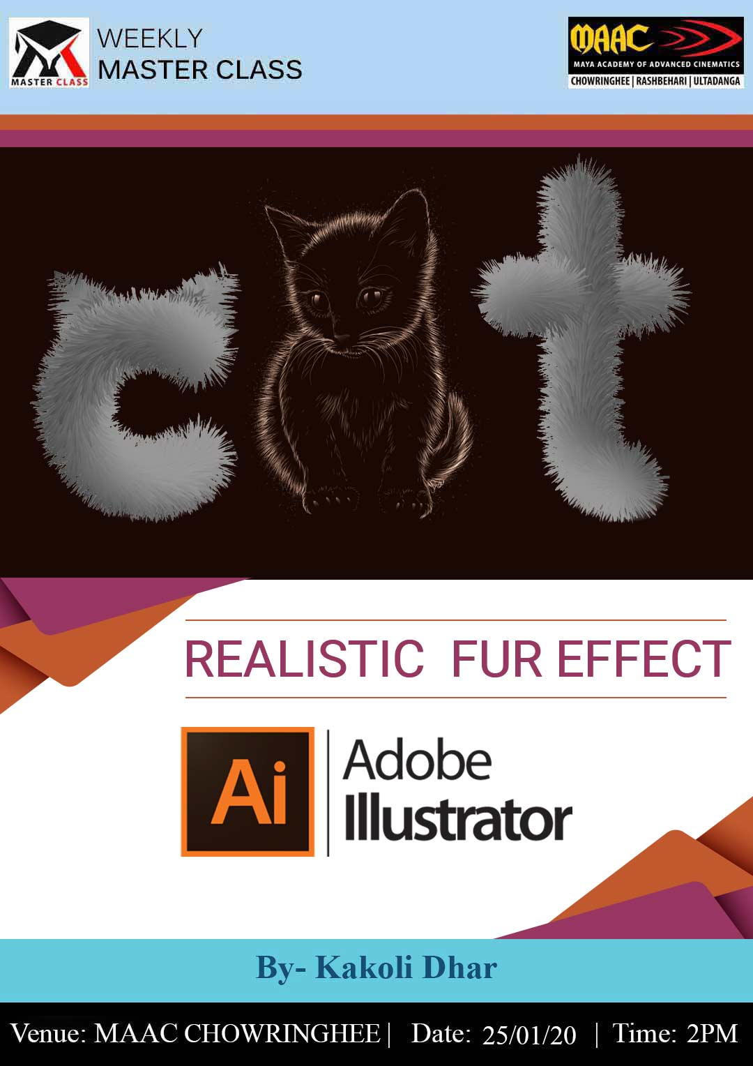 Weekly Master Class on Realistic Fur Effect