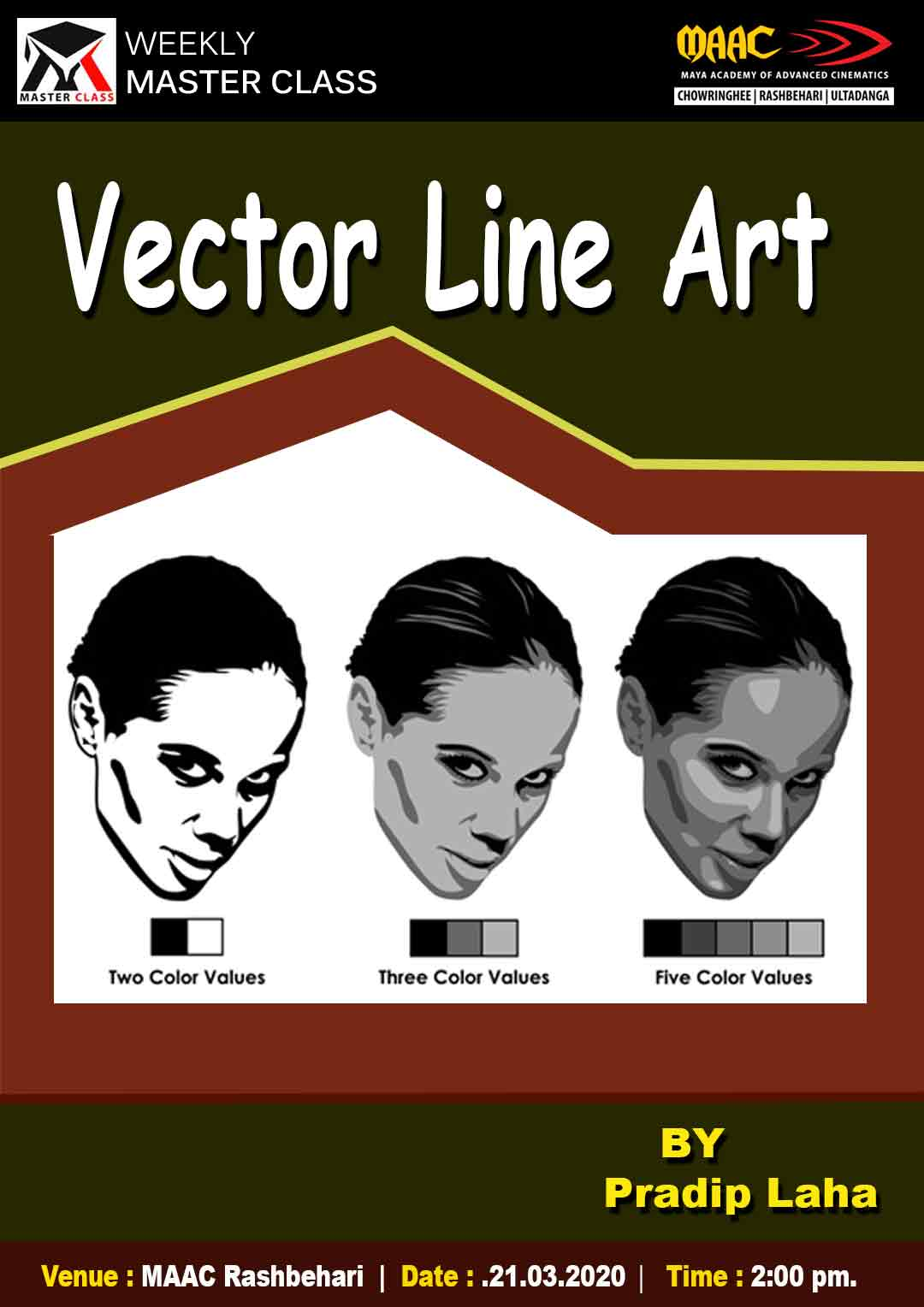 Weekly Master Class on Vector Line Art