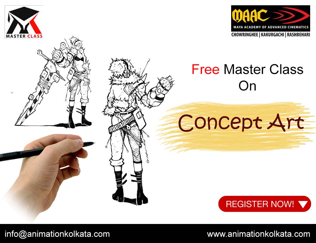 Free Master Class on Concept Art