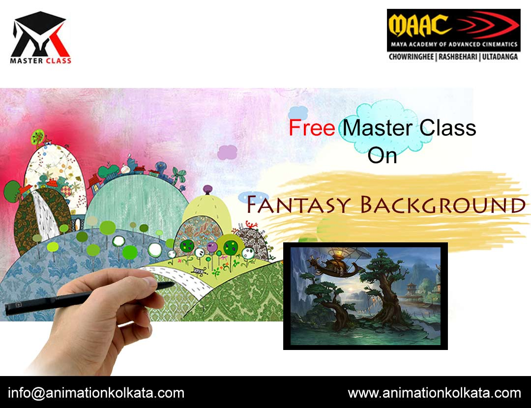 Free Master Class on Fantasy Background